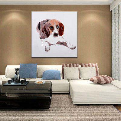 Mintura Hand Painted Dog Oil PaintingOil Paintings<br>Mintura Hand Painted Dog Oil Painting<br><br>Brand: Mintura<br>Craft: Oil Painting<br>Form: One Panel<br>Material: Canvas<br>Package Contents: 1 x Painting<br>Package size (L x W x H): 86.00 x 5.00 x 5.00 cm / 33.86 x 1.97 x 1.97 inches<br>Package weight: 0.5500 kg<br>Painting: Without Inner Frame<br>Product size (L x W x H): 75.00 x 75.00 x 0.10 cm / 29.53 x 29.53 x 0.04 inches<br>Product weight: 0.5000 kg<br>Shape: Square<br>Style: Animal<br>Subjects: Animal<br>Suitable Space: Bedroom,Hallway,Hotel,Living Room