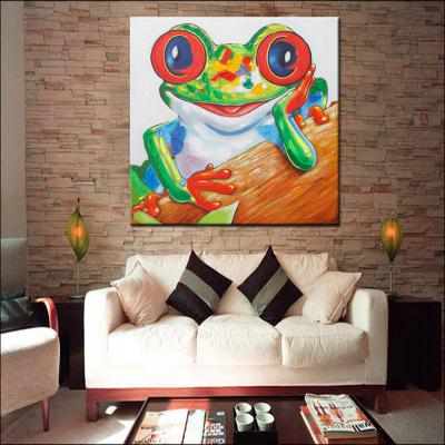 Mintura Hand Painted Frog Canvas Oil PaintingOil Paintings<br>Mintura Hand Painted Frog Canvas Oil Painting<br><br>Brand: Mintura<br>Craft: Oil Painting<br>Form: One Panel<br>Material: Canvas<br>Package Contents: 1 x Painting<br>Package size (L x W x H): 86.00 x 5.00 x 5.00 cm / 33.86 x 1.97 x 1.97 inches<br>Package weight: 0.5500 kg<br>Painting: Without Inner Frame<br>Product size (L x W x H): 75.00 x 75.00 x 0.10 cm / 29.53 x 29.53 x 0.04 inches<br>Product weight: 0.5000 kg<br>Shape: Square<br>Style: Animal<br>Subjects: Animal<br>Suitable Space: Bedroom,Hallway,Hotel,Living Room