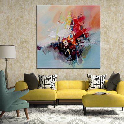 Mintura Hand Painted Coloful Abstract Canvas Oil PaintingOil Paintings<br>Mintura Hand Painted Coloful Abstract Canvas Oil Painting<br><br>Brand: Mintura<br>Craft: Oil Painting<br>Form: One Panel<br>Material: Canvas<br>Package Contents: 1 x Painting<br>Package size (L x W x H): 86.00 x 5.00 x 5.00 cm / 33.86 x 1.97 x 1.97 inches<br>Package weight: 0.5500 kg<br>Painting: Without Inner Frame<br>Product size (L x W x H): 75.00 x 75.00 x 0.10 cm / 29.53 x 29.53 x 0.04 inches<br>Product weight: 0.5000 kg<br>Shape: Square<br>Style: Figure Statue<br>Subjects: Figure Painting<br>Suitable Space: Bedroom,Hallway,Hotel,Living Room