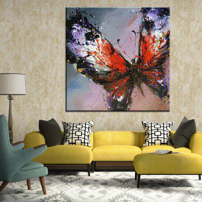 Mintura Hand Painted Colorful Butterfly Canvas Oil PaintingOil Paintings<br>Mintura Hand Painted Colorful Butterfly Canvas Oil Painting<br><br>Brand: Mintura<br>Craft: Oil Painting<br>Form: One Panel<br>Material: Canvas<br>Package Contents: 1 x Painting<br>Package size (L x W x H): 86.00 x 5.00 x 5.00 cm / 33.86 x 1.97 x 1.97 inches<br>Package weight: 0.5500 kg<br>Painting: Without Inner Frame<br>Product size (L x W x H): 75.00 x 75.00 x 0.10 cm / 29.53 x 29.53 x 0.04 inches<br>Product weight: 0.5000 kg<br>Shape: Square<br>Style: Animal<br>Subjects: Animal<br>Suitable Space: Bedroom,Hallway,Hotel,Living Room