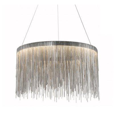 ZUOGE DJBCY027 800mm Round Art Pendant Light 110V