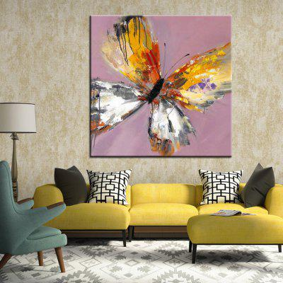 Mintura Hand Painted Colorful Abstract Butterfly Oil PaintingOil Paintings<br>Mintura Hand Painted Colorful Abstract Butterfly Oil Painting<br><br>Brand: Mintura<br>Craft: Oil Painting<br>Form: One Panel<br>Material: Canvas<br>Package Contents: 1 x Painting<br>Package size (L x W x H): 86.00 x 5.00 x 5.00 cm / 33.86 x 1.97 x 1.97 inches<br>Package weight: 0.5500 kg<br>Painting: Without Inner Frame<br>Product size (L x W x H): 75.00 x 75.00 x 0.10 cm / 29.53 x 29.53 x 0.04 inches<br>Product weight: 0.5000 kg<br>Shape: Square<br>Style: Animal<br>Subjects: Animal<br>Suitable Space: Bedroom,Hallway,Hotel,Living Room