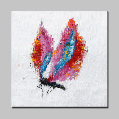 Buy COLORMIX Mintura Hand Painted Colorful Butterfly Oil Painting for $53.90 in GearBest store