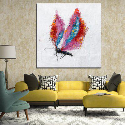 Mintura Hand Painted Colorful Butterfly Oil PaintingOil Paintings<br>Mintura Hand Painted Colorful Butterfly Oil Painting<br><br>Brand: Mintura<br>Craft: Oil Painting<br>Form: One Panel<br>Material: Canvas<br>Package Contents: 1 x Painting<br>Package size (L x W x H): 86.00 x 5.00 x 5.00 cm / 33.86 x 1.97 x 1.97 inches<br>Package weight: 0.5500 kg<br>Painting: Without Inner Frame<br>Product size (L x W x H): 75.00 x 75.00 x 0.10 cm / 29.53 x 29.53 x 0.04 inches<br>Product weight: 0.5000 kg<br>Shape: Square<br>Style: Animal<br>Subjects: Animal<br>Suitable Space: Bedroom,Hallway,Hotel,Living Room