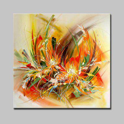 Buy COLORMIX Mintura Hand Painted Abstract Flower Oil Painting for $55.54 in GearBest store