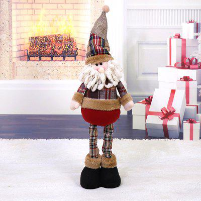 MCYH Santa Claus Style Decoration Christmas PresentChristmas Supplies<br>MCYH Santa Claus Style Decoration Christmas Present<br><br>Brand: MCYH<br>Package Contents: 1 x Santa Claus Decoration<br>Package Quantity: 1<br>Package size (L x W x H): 55.00 x 5.00 x 5.00 cm / 21.65 x 1.97 x 1.97 inches<br>Package weight: 0.1200 kg<br>Product size (L x W x H): 51.00 x 12.00 x 12.00 cm / 20.08 x 4.72 x 4.72 inches<br>Product weight: 0.1000 kg<br>Usage: Christmas