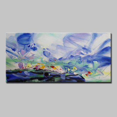 Mintura Hand Painted Abstract Canvas Home Decor Oil Painting