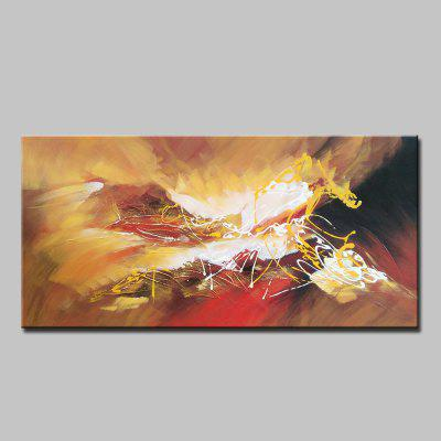 Mintura Hand Painted Colorful Abstract Style Canvas Home Decor Oil Painting