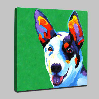 Mintura Colorful Dog Modern Canvas Oil PaintingOil Paintings<br>Mintura Colorful Dog Modern Canvas Oil Painting<br><br>Brand: Mintura<br>Craft: Oil Painting<br>Form: One Panel<br>Material: Canvas<br>Package Contents: 1 x Painting<br>Package size (L x W x H): 91.00 x 5.00 x 5.00 cm / 35.83 x 1.97 x 1.97 inches<br>Package weight: 0.6000 kg<br>Painting: Without Inner Frame<br>Product size (L x W x H): 80.00 x 80.00 x 0.10 cm / 31.5 x 31.5 x 0.04 inches<br>Product weight: 0.5000 kg<br>Shape: Square<br>Style: Animal<br>Subjects: Animal<br>Suitable Space: Bedroom,Dining Room,Hotel,Living Room
