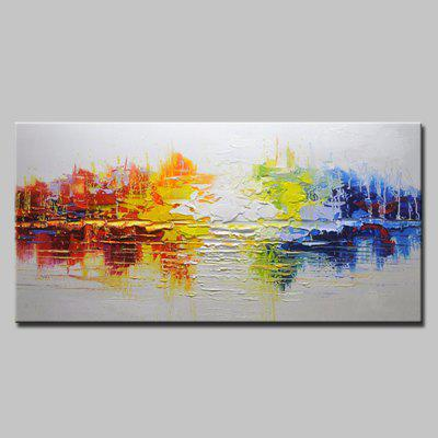 Buy COLORMIX Mintura Hand Painted Appealing Abstract Oil Painting for $82.67 in GearBest store