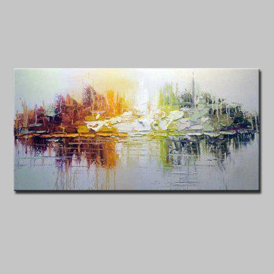 Buy COLORMIX Mintura Hand Painted Abstract Beautiful Oil Painting for $82.67 in GearBest store
