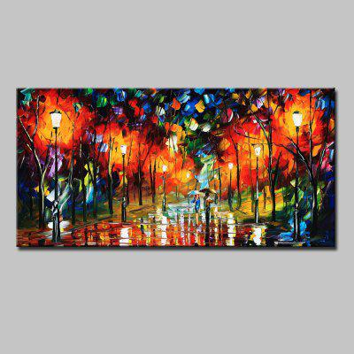 Buy COLORMIX Mintura Hand Painted Landscape Oil Painting for $82.67 in GearBest store