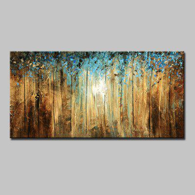 Buy COLORMIX Mintura Hand Painted Tree Oil Painting for $82.67 in GearBest store