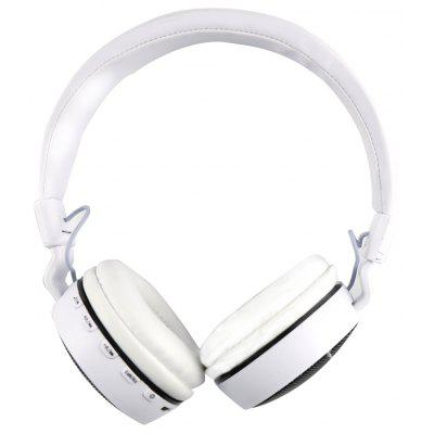 Buy WHITE MS 661A Foldable Stereo Bluetooth Headset for $13.04 in GearBest store