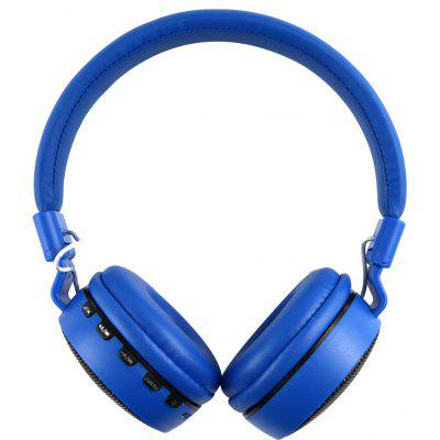Buy BLUE MS 661A Foldable Stereo Bluetooth Headset for $13.04 in GearBest store