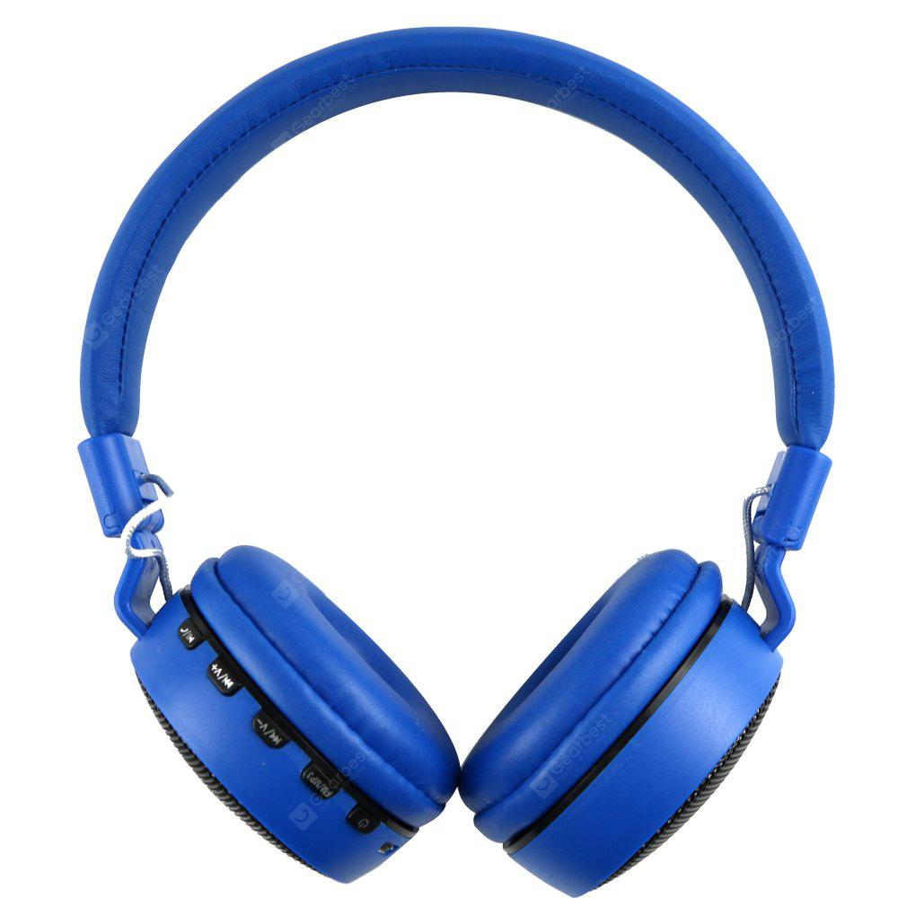 BLUE MS 661A Foldable Stereo Bluetooth Headset
