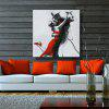 Mintura MT160311 Colorful Abstract Canvas Oil Painting - COLORMIX