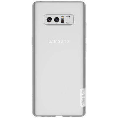 NILLKIN Durable Cover for Samsung Galaxy Note 8Samsung Note Series<br>NILLKIN Durable Cover for Samsung Galaxy Note 8<br><br>Brand: Nillkin<br>Color: Transparent,White<br>Features: Anti-knock, Back Cover, Dirt-resistant<br>For: Samsung Mobile Phone<br>Functions: Camera Hole Location<br>Material: TPU<br>Package Contents: 1 x Case<br>Package size (L x W x H): 18.20 x 11.00 x 1.80 cm / 7.17 x 4.33 x 0.71 inches<br>Package weight: 0.0540 kg<br>Product size (L x W x H): 16.40 x 7.60 x 0.60 cm / 6.46 x 2.99 x 0.24 inches<br>Product weight: 0.0130 kg<br>Style: Modern