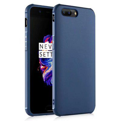 Solid Color TPU Mobile Phone Case for OnePlus 5