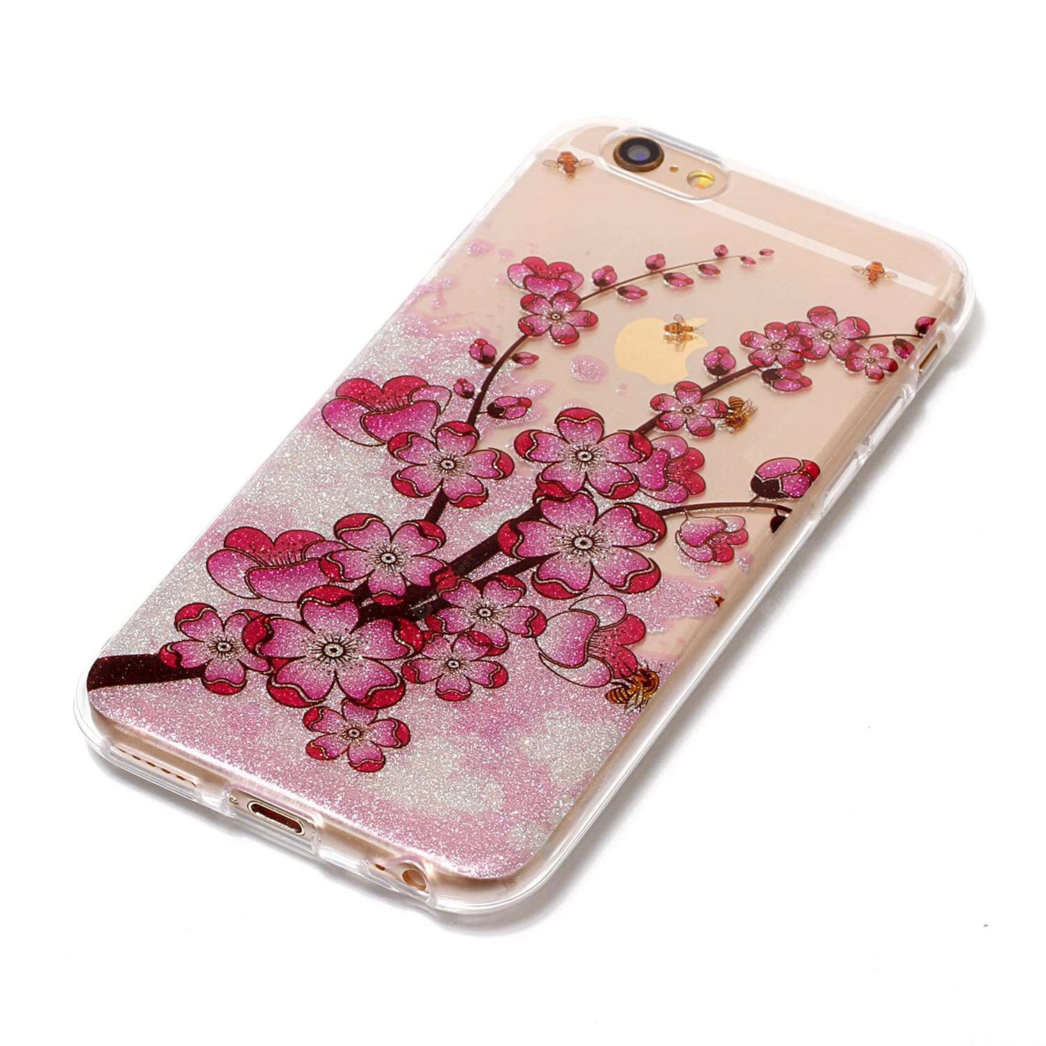 ASLING Plum Series TPU Teléfono Funda para iPhone 6S / 6