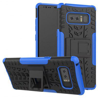 Buy BLUE TPU Bumper PC Cover Kickstand Case for Samsung Galaxy Note 8 for $2.56 in GearBest store