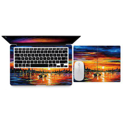 Sunrise at Sea Style Body Cover Stickers for Xiaomi Notebook Air 12.5