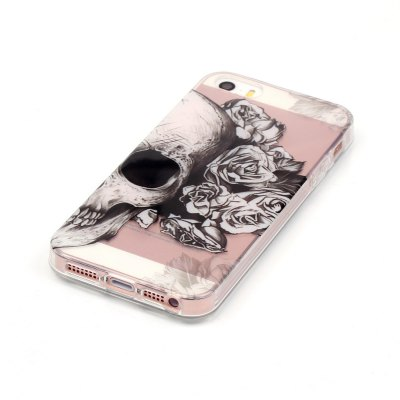 ASLING Skull Series TPU Case for iPhone 5 / 5S / SEiPhone Cases/Covers<br>ASLING Skull Series TPU Case for iPhone 5 / 5S / SE<br><br>Brand: ASLING<br>Compatible for Apple: iPhone 5/5S, iPhone SE<br>Features: Back Cover<br>Material: TPU<br>Package Contents: 1 x Protective Cover Case, 1 x Protective Cover Case<br>Package size (L x W x H): 21.70 x 12.00 x 0.80 cm / 8.54 x 4.72 x 0.31 inches, 21.70 x 12.00 x 0.80 cm / 8.54 x 4.72 x 0.31 inches<br>Package weight: 0.0200 kg, 0.0200 kg<br>Product size (L x W x H): 12.50 x 6.50 x 0.10 cm / 4.92 x 2.56 x 0.04 inches, 12.50 x 6.50 x 0.10 cm / 4.92 x 2.56 x 0.04 inches<br>Product weight: 0.0170 kg, 0.0170 kg<br>Style: Skull, Ultra Slim, Ultra Slim