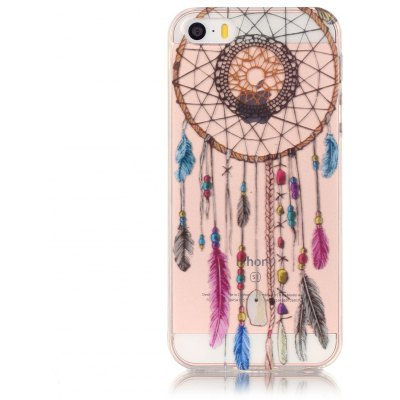 ASLING TPU Dream Catcher Theme Phone Cover for iPhone 5 / 5S / SE