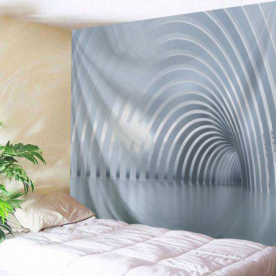 Wall Hanging Art Decor Curved Corredor Print Tapestry