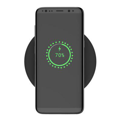 QX100 Durable Wireless Charger for Mobile PhoneChargers &amp; Cables<br>QX100 Durable Wireless Charger for Mobile Phone<br><br>Charging distance: 4 - 8mm<br>Charging frequency: 110-205 KHz<br>Compatible Devices: Universal<br>Input: DC 5 V / 2A 9V / 1.8A<br>Mainly Compatible with: Universal<br>Output: 10W<br>Package Contents: 1 x Charger, 1 x Type-C Cable, 1 x English Specification, 1 x Plastic-adherent<br>Package size (L x W x H): 15.11 x 11.80 x 2.80 cm / 5.95 x 4.65 x 1.1 inches<br>Package weight: 1.4000 kg<br>Product size (L x W x H): 10.00 x 10.00 x 1.10 cm / 3.94 x 3.94 x 0.43 inches<br>Product weight: 0.8000 kg<br>Type: Wireless Chargers