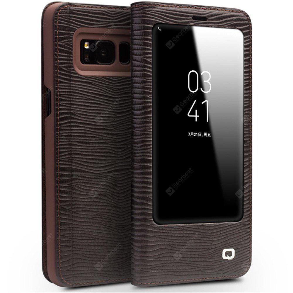 QIALINO Stripe Phone Cover for Samsung Galaxy S8 Plus