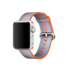 Modern Colorfu Nylon Watchband for 42mm Apple Watch