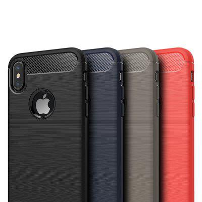 ASLING Durable Soft Protective Phone Cover for iPhone XiPhone Cases/Covers<br>ASLING Durable Soft Protective Phone Cover for iPhone X<br><br>Brand: ASLING<br>Compatible for Apple: iPhone X<br>Features: Back Cover<br>Material: Carbon Fiber, TPU<br>Package Contents: 1 x iPhone Case<br>Package size (L x W x H): 21.70 x 12.00 x 1.80 cm / 8.54 x 4.72 x 0.71 inches<br>Package weight: 0.0330 kg<br>Product size (L x W x H): 14.60 x 7.50 x 0.90 cm / 5.75 x 2.95 x 0.35 inches<br>Product weight: 0.0270 kg<br>Style: Modern, Cool, Ultra Slim, Solid Color