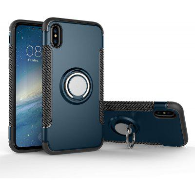 Luanke Anti-dust Ring Stand Case for iPhone X
