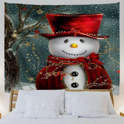 Christmas Snowman Print Bedroom TapestryTapestries<br>Christmas Snowman Print Bedroom Tapestry<br><br>Feature: Removable, Washable<br>Material: Polyester<br>Package Contents: 1 x Tapestry<br>Shape/Pattern: Print<br>Style: Festival<br>Theme: Christmas<br>Weight: 0.3800kg