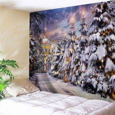 Wall Hanging Art Decor Christmas Pathway Print Tapestry