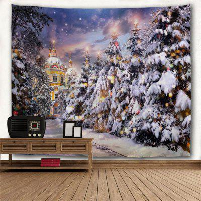 Wall Hanging Art Decor Christmas Pathway Print TapestryTapestries<br>Wall Hanging Art Decor Christmas Pathway Print Tapestry<br><br>Feature: Washable, Washable<br>Material: Polyester<br>Package Contents: 1 x Tapestry, 1 x Tapestry<br>Shape/Pattern: Plant, Plant<br>Style: Festival<br>Theme: Christmas<br>Weight: 0.4000kg, 0.4000kg