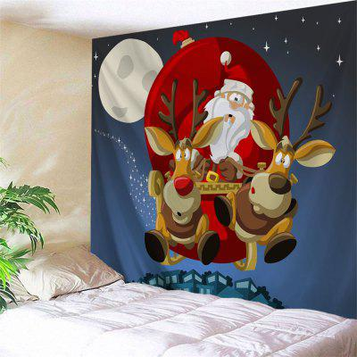 Wall Hanging Christmas Sled Tapestry