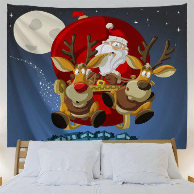 Wall Hanging Christmas Sled TapestryTapestries<br>Wall Hanging Christmas Sled Tapestry<br><br>Feature: Removable, Washable<br>Material: Polyester<br>Package Contents: 1 x Tapestry<br>Shape/Pattern: Animal,Figure,Moon<br>Style: Festival<br>Theme: Christmas<br>Weight: 0.3800kg