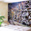 Wall Hanging Art Decor Christmas Pathway Print Tapestry - COLORMIX