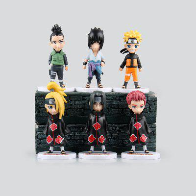 Animation Action Figure Model Toy - 6pcs / set