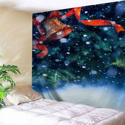 Christmas Bell Tree Wall Hanging Tapestry