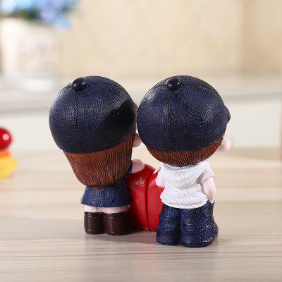 Cute Resin Ornaments Cartoon Lovers Decorative Craft 2PCSCrafts<br>Cute Resin Ornaments Cartoon Lovers Decorative Craft 2PCS<br><br>For: Friends, Lovers, Others<br>Material: Resin<br>Package Contents: 2 x Ornament<br>Package size (L x W x H): 12.00 x 12.00 x 11.00 cm / 4.72 x 4.72 x 4.33 inches<br>Package weight: 0.2400 kg<br>Product size (L x W x H): 5.00 x 5.00 x 10.50 cm / 1.97 x 1.97 x 4.13 inches<br>Product weight: 0.2200 kg<br>Subjects: Cartoon,Cute<br>Usage: Wedding, Others, Christmas, Birthday, New Year
