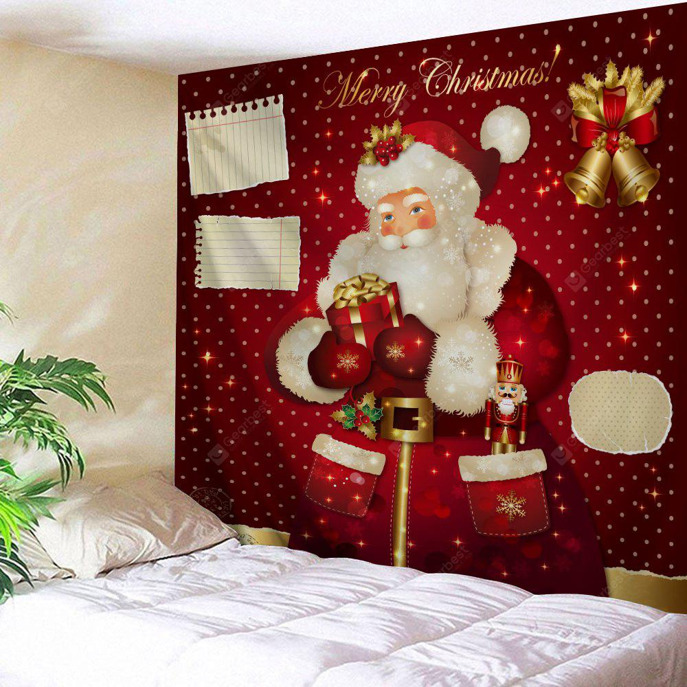 Santa Claus Wall Decor Christmas Bell Tapestry