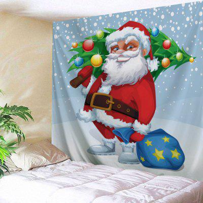 Santa Claus Wall Decor Christmas Tree Tapestry