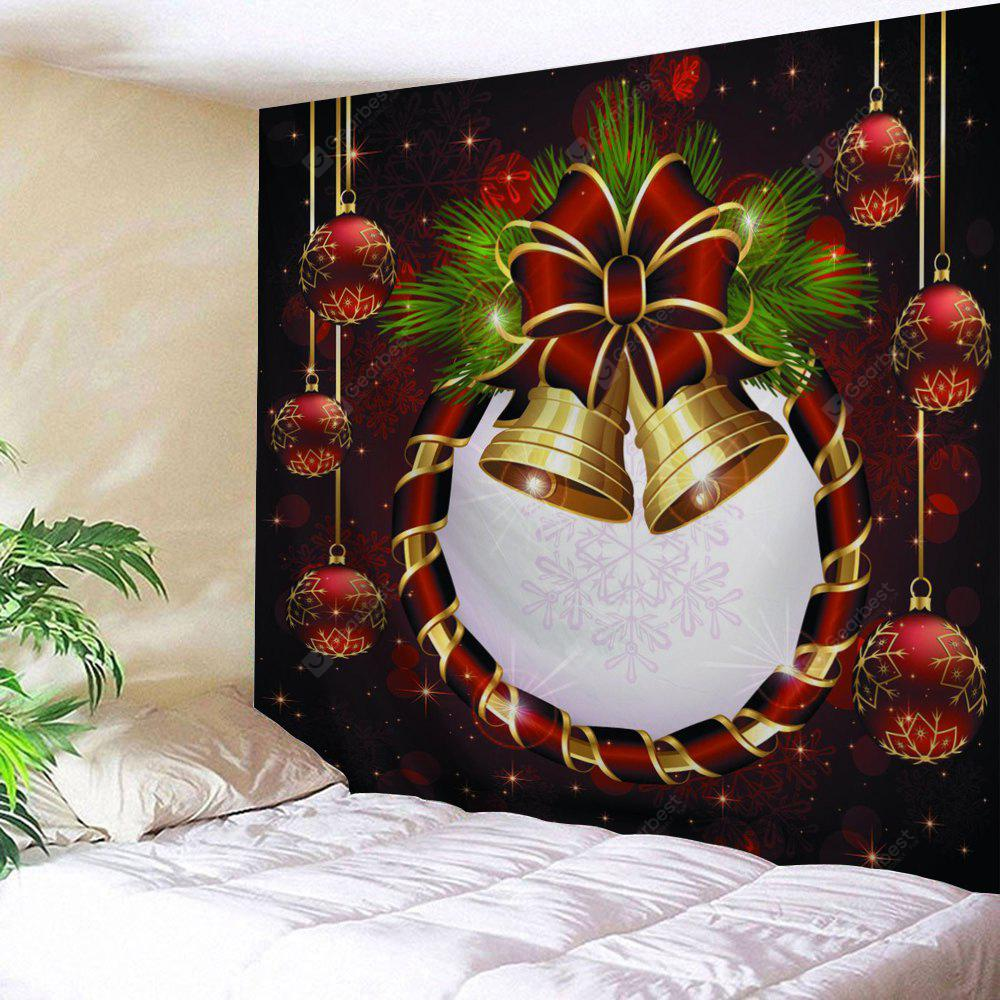 Christmas Ball Bell Print Wall Art Tapestry