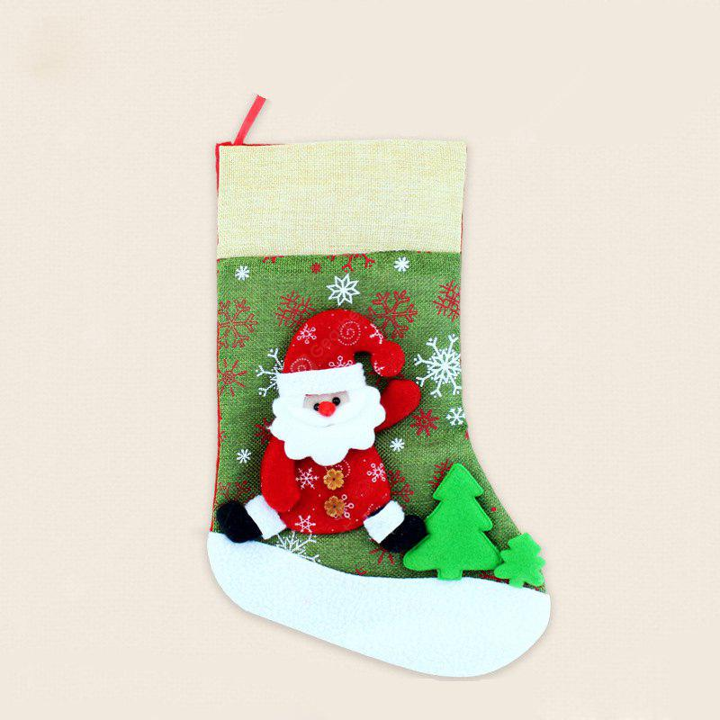 Christmas Sock Pendant for Christmas Party Decoration