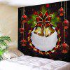 Christmas Ball Bell Print Wall Art Tapestry - COLORMIX