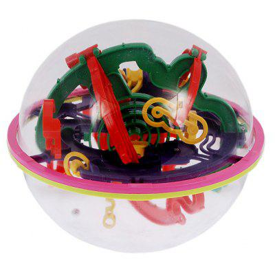 3D Brain IQ Trainer Magical Intellect Toy Maze Ball Large Size