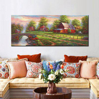 Mintura HY150129 Pretty Country Scenery Print Canvas PaintingPrints<br>Mintura HY150129 Pretty Country Scenery Print Canvas Painting<br><br>Brand: Mintura<br>Craft: Print<br>Form: One Panel<br>Material: Canvas<br>Package Contents: 1 x Print<br>Package size (L x W x H): 71.00 x 5.00 x 5.00 cm / 27.95 x 1.97 x 1.97 inches<br>Package weight: 0.5200 kg<br>Painting: Without Inner Frame<br>Product size (L x W x H): 150.00 x 60.00 x 0.10 cm / 59.06 x 23.62 x 0.04 inches<br>Product weight: 0.5000 kg<br>Shape: Horizontal<br>Style: Waterproof, Scenery / Landscape, Beautiful, Amazing, Modern<br>Subjects: Landscape<br>Suitable Space: Bedroom,Cafes,Dining Room,Entry,Game Room,Hallway,Hotel,Kids Room,Living Room,Study Room / Office